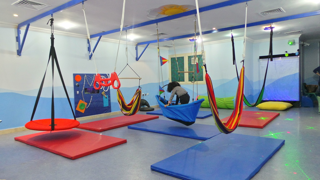 Sensory gym play therapy for kids in kuwait